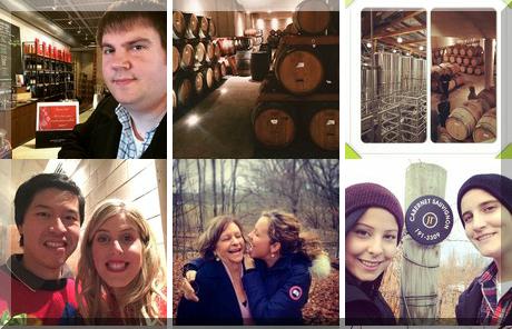 Jackson-Triggs Winery collage of popular photos