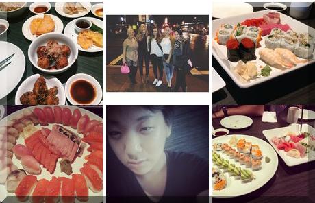 Shiki Sushi collage of popular photos