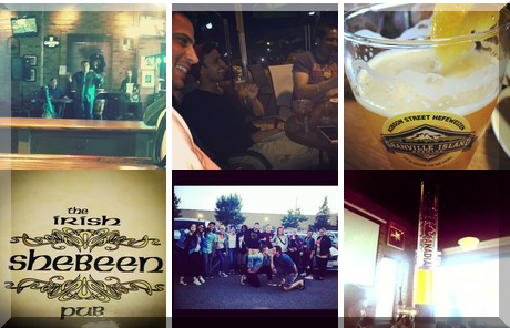 The Irish Shebeen Pub collage of popular photos
