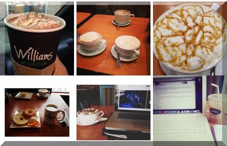 Williams Coffee Pub collage of popular photos