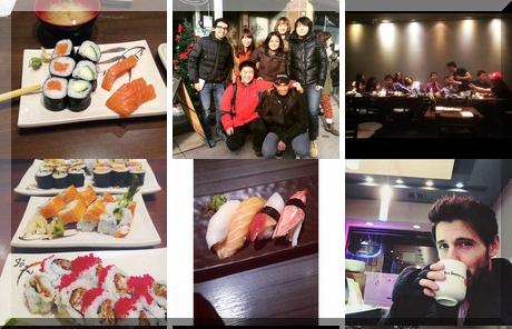 New Generation Sushi collage of popular photos