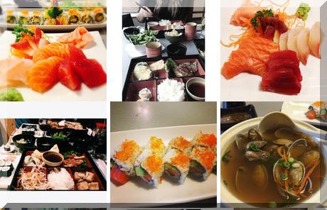 Simon Sushi collage of popular photos