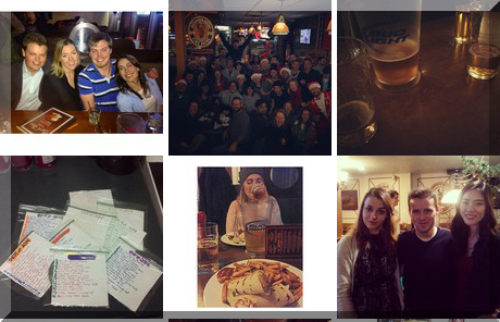 James Street Pub collage of popular photos