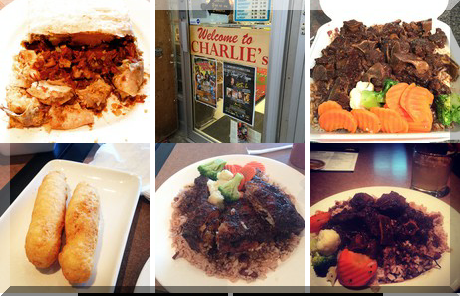 Charlie's Caribbean Cuisine collage of popular photos