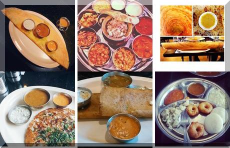 Udupi Madras Cafe collage of popular photos