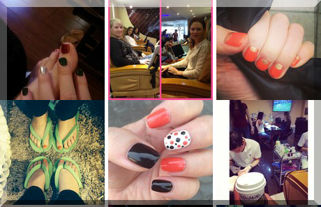 High Park Nail ' Spa collage of popular photos