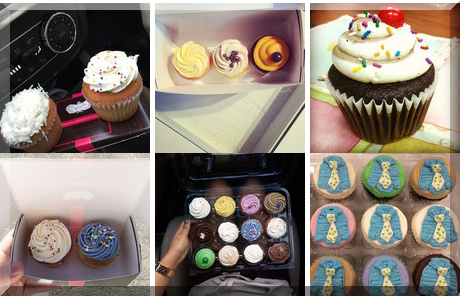 The Cupcake Shoppe collage of popular photos