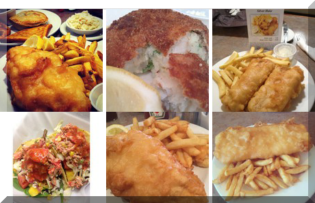High Street Fish & Chips collage of popular photos
