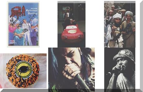 Tim Hortons collage of popular photos
