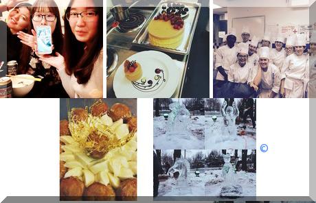 Le Cordon Bleu Ottawa Culinary Arts Institute collage of popular photos