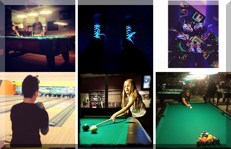 Partners Billiards & Bowling collage of popular photos