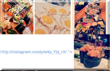 Kaiji Sushi collage of popular photos