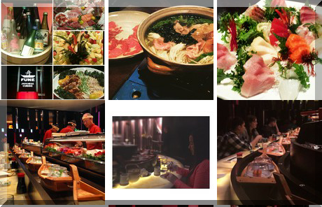 Fune Japanese Restaurant collage of popular photos