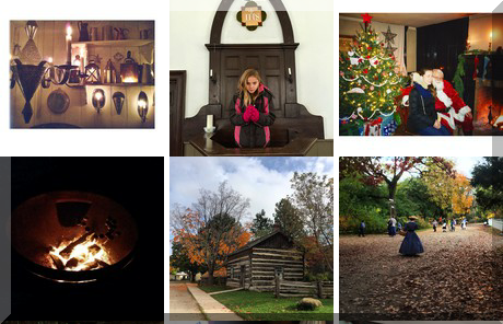 Black Creek Pioneer Village collage of popular photos