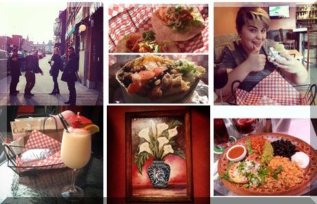 Burrito Borracho collage of popular photos