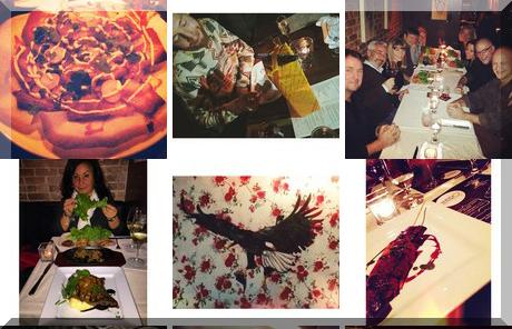 Oz Kafe collage of popular photos