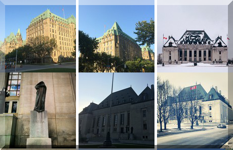 SUPREME COURT OF CANADA collage of popular photos