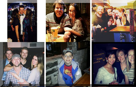 Merchant Tap House collage of popular photos