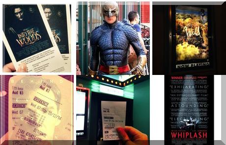 Fifth Avenue Cinemas collage of popular photos