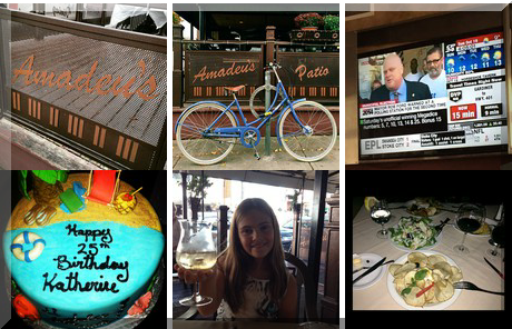 Amadeus Restaurant collage of popular photos