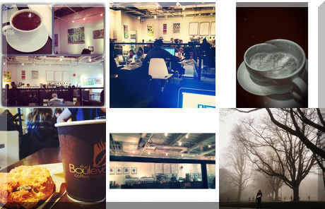 The Boulevard Coffee Roasting Co. collage of popular photos