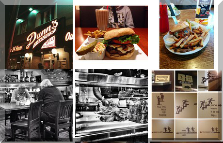 Dunn's Famous Deli collage of popular photos