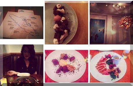 Ulla Restaurant collage of popular photos
