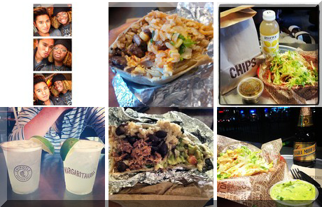 Chipotle Mexican Grill collage of popular photos