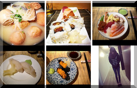 Solo Sushi Bekkan collage of popular photos
