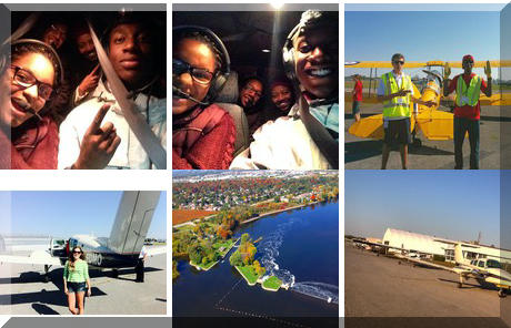 Ottawa Flying Club collage of popular photos