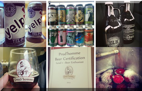 Great Lakes Brewing collage of popular photos