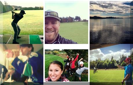 Cordova Bay Golf Course collage of popular photos