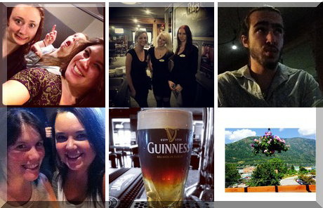Finley's Irish Bar & Grill collage of popular photos