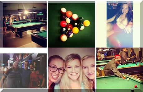 Cue'N Cushion Billiards & Bar collage of popular photos