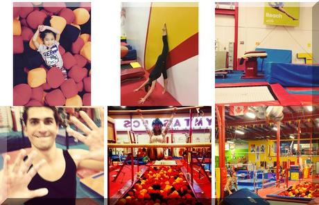 Gymtastics Gym Club collage of popular photos