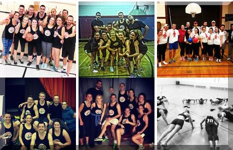 Toronto Central Sport & Social Club collage of popular photos