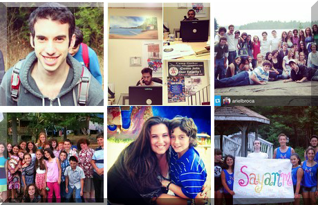Camp Gesher collage of popular photos