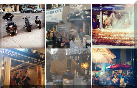 Athens Restaurant collage of popular photos