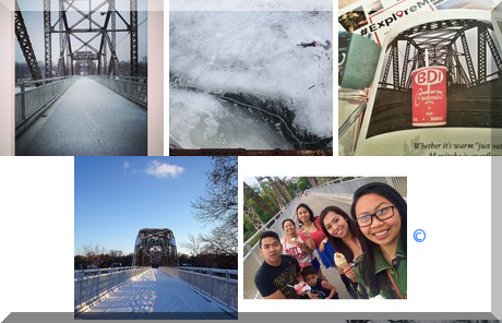 Bridge Drive-In collage of popular photos