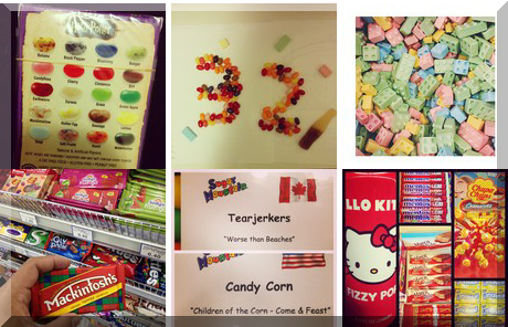 Sugar Mountain Confectionery collage of popular photos