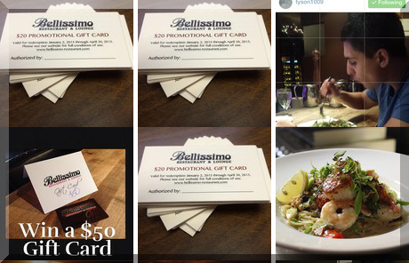 Bellissimo Restaurant & Lounge collage of popular photos