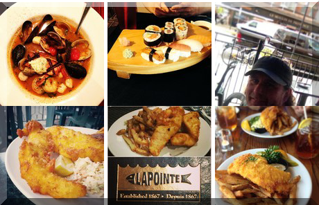 LAPOINTE SEAFOOD GRILL collage of popular photos