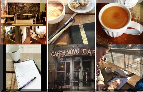 Cafe Novo collage of popular photos