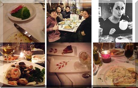 Donatello Restaurant collage of popular photos