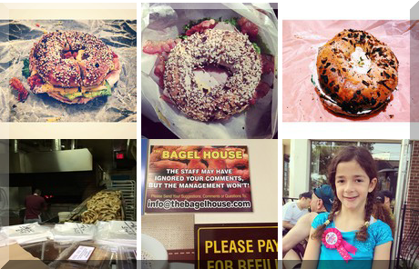 The Bagel House collage of popular photos