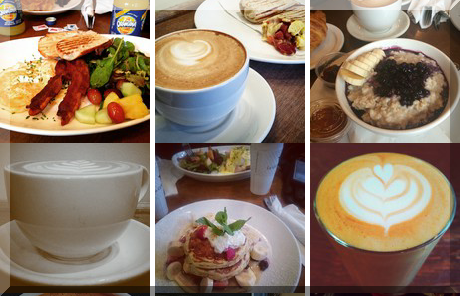 LE GOURMAND CAFE photo collage