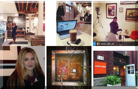 Caffe Furbo collage of popular photos