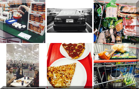 Costco Downsview collage of popular photos