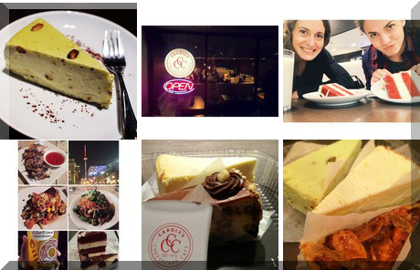 Carole's Cheesecake Cafe collage of popular photos