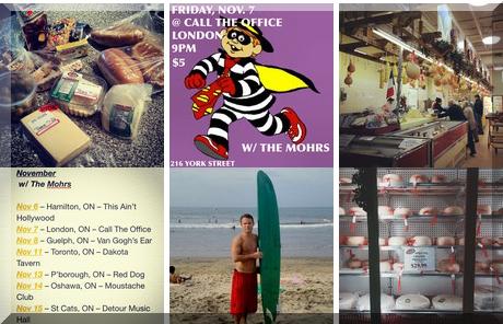 Grande Cheese collage of popular photos